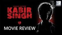 Kabir Singh MOVIE REVIEW | Shahid Kapoor, Kiara Advani