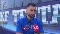 RTV Ora - Arapi optimist për Europën: Duhet të kalojmë një tur, Teuta ka nevojë për një bomber