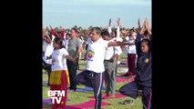 Le Premier ministre, les diplomates et les citoyens célèbrent la journée internationale du Yoga en Inde