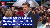 Russell Crowe Bought A Weird Item From Leonardo DiCaprio