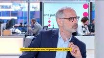 """VIDÉO. Hugues Renson : """"On ne va pas gagner Paris à n'importe quel prix. On ne va pas faire d'alliance avec le principal parti d'opposition !"""""""