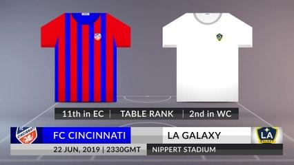 new product 77124 3ab78 Match Preview: FC Cincinnati vs LA Galaxy on 22/06/2019 ...