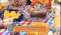 Alimentação saudável durante as festas juninas