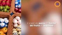 Des fruits… fabriqués avec de la mie de pain ! Des pains trompe l'œil totalement bluffant de réalisme !