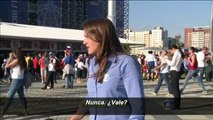 Una periodista sufre una agresión machista en directo durante el Mundial
