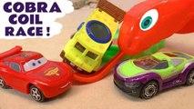 Hot Wheels Cobra Challenge with Disney Pixar Cars 3 Lightning McQueen with DC Comics & Marvel Avengers 4 Endgame Superheroes with PJ Masks & Transformers Bumblebee