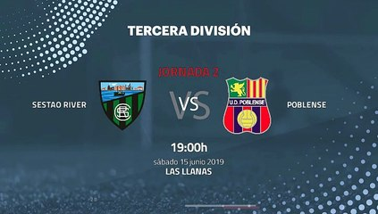 Previa partido entre Sestao River y Poblense Jornada 2 Tercera División - Play Offs Ascenso