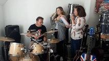 We love rock n' roll à Évreux : répétition en famille chez les Ascato