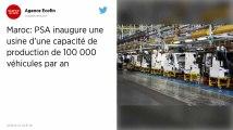 Maroc. PSA ouvre une usine automobile à 557 millions d'euros pour produire des 208