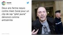Antisémitisme. Deux ans ferme requis contre Alain Soral pour la diffusion du clip de rap «Gilets jaunes»