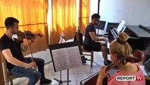 Report TV - Dita Ndërkombëtare e Muzikës, Isak Shehu: Muzika shqiptare duhet promovuar më shumë