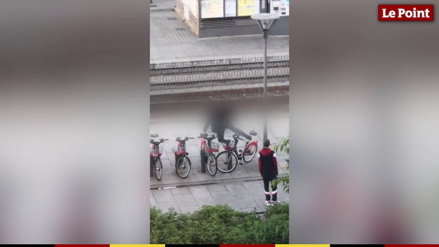 Lyon : des vélos en libre-service vandalisés