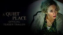 A Quiet Place - Full Movie Trailer in HD - 1080p