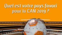 Microdrome de la CAN: Quel est votre pays favori pour la CAN 2019 ?