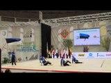 Estonia, country presentation at the 2015 Aerobics Europeans