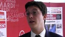 VIDEO. Poitiers : le député Sacha Houlié ne sera pas tête de liste aux élections municipales de Poitiers en 2020