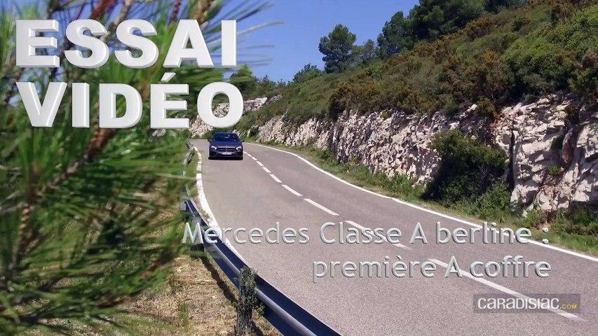 Essai - Mercedes Classe A berline : première A coffre
