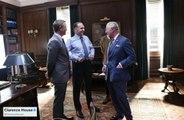 Prince Charles visits Bond 25 set