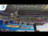 Lina SJOBERG (SWE) - 2016 Double Mini Trampoline European Champion