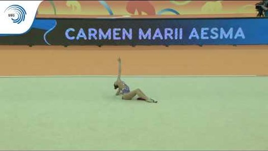 Carmen Marii AESMA (EST) - 2018 Rhythmic Europeans, all ...