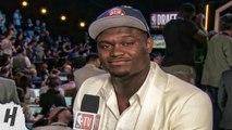 Zion Williamson Post Draft Interview - 2019 NBA Draft