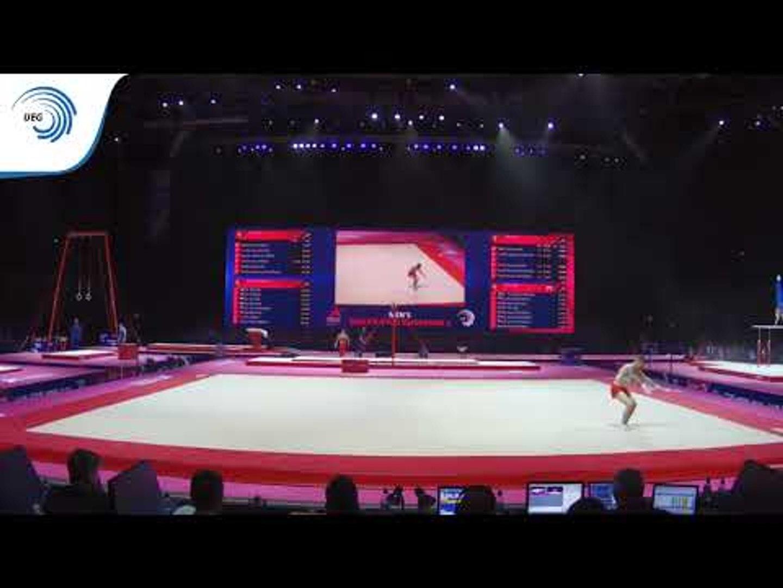 Nestor ABAD (ESP) - 2018 Artistic Gymnastics Europeans, qualification floor