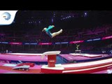 Lilia AKHAIMOVA (RUS) - 2018 Artistic Gymnastics Europeans, qualification vault