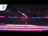 Marko SAMBOLEC (CRO) - 2018 Artistic Gymnastics Europeans, junior qualification horizontal bar