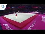 Adam TOBIN (GBR) - 2018 Artistic Gymnastics Europeans, junior qualification floor