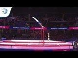 Marcus STENBERG (SWE) - 2018 Artistic Gymnastics Europeans, junior qualification horizontal bar