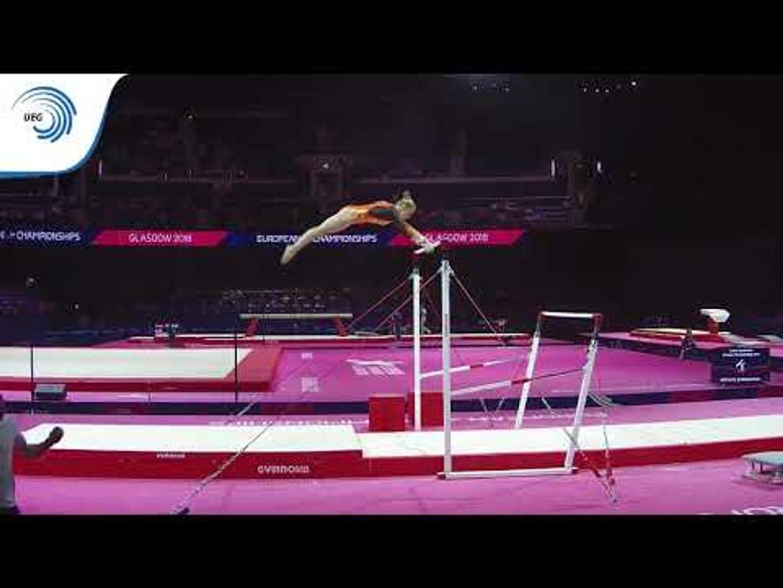 Astrid DE ZEEUW (NED) - 2018 Artistic Gymnastics Europeans, junior qualification bars