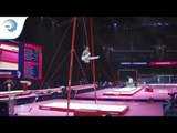 Sergei NAIDIN (RUS) - 2018 Artistic Gymnastics Europeans, junior qualification rings