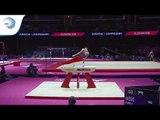 Jamie LEWIS (GBR) - 2018 Artistic Gymnastics European silver medallist, junior all around