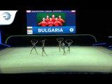 Bulgaria -  2019 Rhythmic Gymnastics Europeans, junior groups 5 hoops qualification