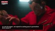 La casa de papel : Jul rejoint le casting pour la promotion de la saison 3 (vidéo)