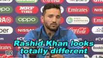 World Cup 2019 | Rashid Khan looks totally different: Gulbadin Naib