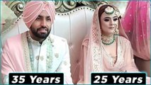 Age Difference Top Punjabi Singers and their wife -- Royal Addiction