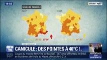 """Avec des températures qui devraient s'envoler jusqu'à 40°C, Météo France s'attend à une """"canicule sans précédent"""""""