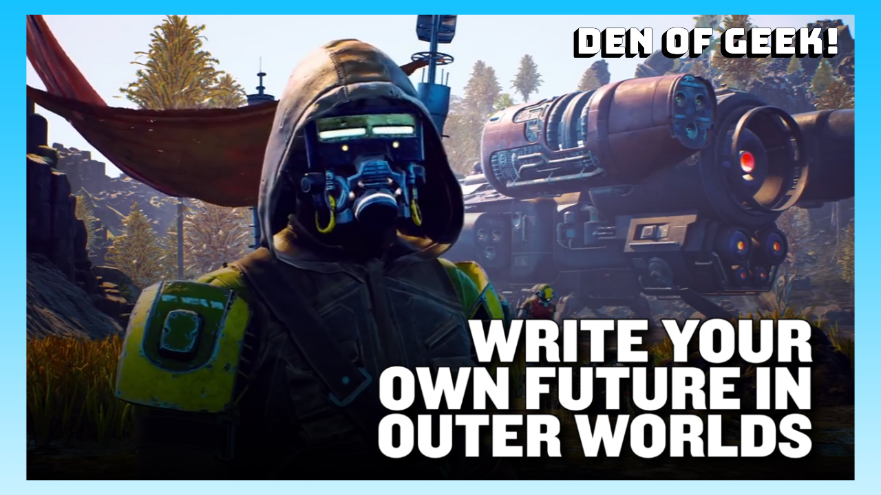 E3 Interview - The Outer Worlds' Narrative Designer