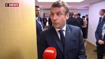 Emmanuel Macron à Bruxelles : les coulisses d'une interview