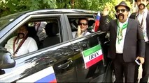 La afición iraní, volcada con su selección