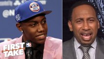 Stephen A. isn't sold on RJ Barrett being the face of the Knicks ... yet - First Take
