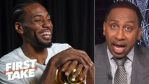'No chance in hell' Kawhi joins the Sixers even if he meets with them - Stephen A. - First Take
