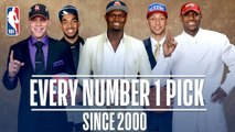 Every Number One Pick Since 2000- - From Kenyon Martin to Zion Williamson