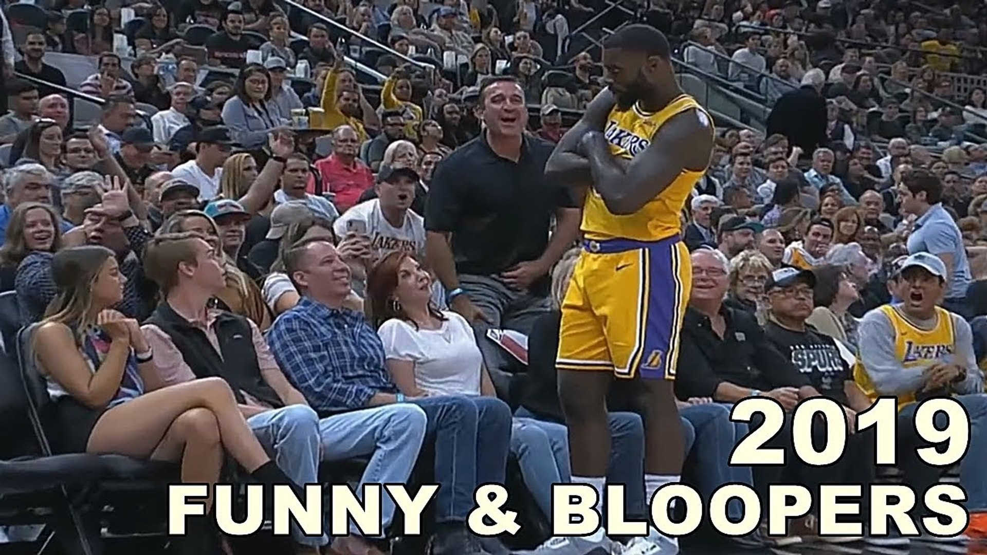 Most Funny Moments in NBA • Bloopers - Reactions 2019 -2