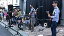 The Seagull busters en concert lors de la Fête de la musique