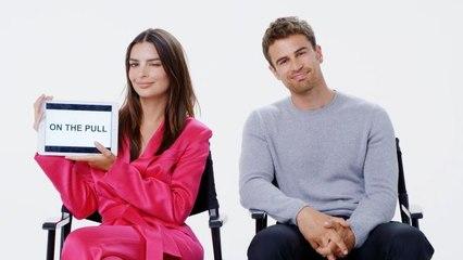 Emily Ratajkowski and Theo James Teach You British Slang
