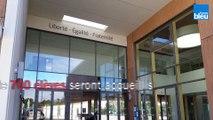 Visite du nouveau collège de Bressuire