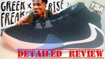 Nike Zoom Freak 1 Giannis Antetokoumpo Signature Shoe Detailed Look Review
