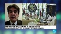 """Meurtre de Jamal Khashoggi : """"La position de Riyadh n'as pas changé"""", malgré un nouveau rapport de l'ONU"""
